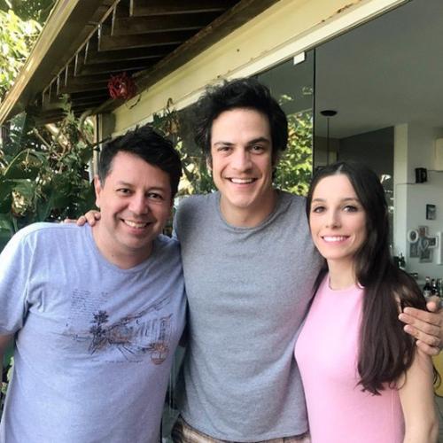 Fabio Medeiros, Mateus Solano e Rebeca Casagrande