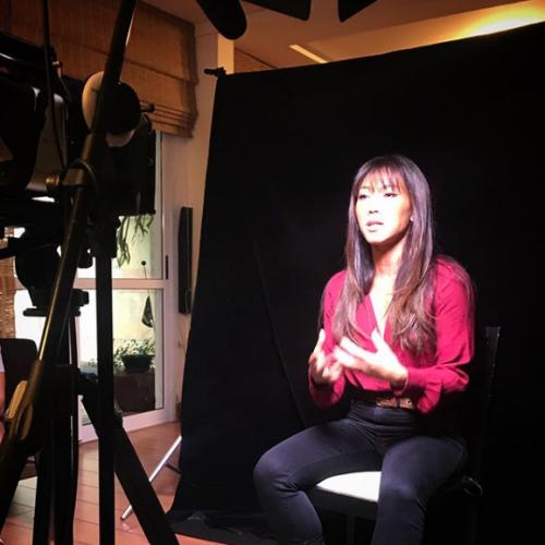 Danni Suzuki  para o documentário Despertar - Data Limite